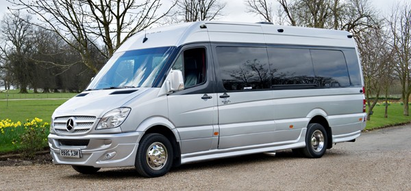 OUR LUXURY 16 SEATER MERCEDES VEHICLE