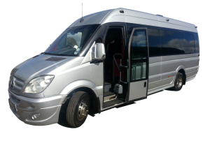 Our 16 seater luxury Mercedes vehicle